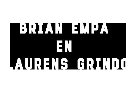 Brian Empa en Laurens Grindo